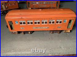 Lionel Macys Special Bild-a-loco No. 4, (2) 605, 606 & Pre War 256 Beautiful Lot