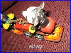 Lionel Mickey Mouse handcar prewar windup 0 gauge antique toy