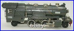 Lionel O-gauge Prewar Tinplate 255e Gray Locomotive & 263t Banana Whistle Tender