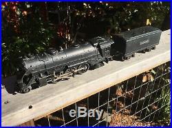 Lionel PreWar 1939-40 O27 Gauge 1666 Steam Locomotive and 2689W Tender withOBs