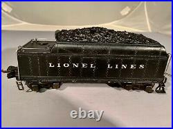 Lionel PreWar 225 Loco with 2235W Tender 1938-42