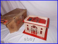 Lionel Pre War #115 Station In Original Box Lot #e-18