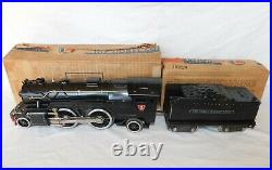 Lionel Pre-War 1835E Steam Locomotive & 1835W Tender with Original Boxes NICE