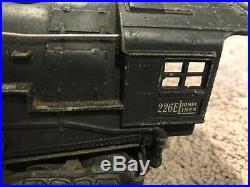 Lionel Pre War 226e Steam Locomotive