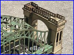 Lionel Pre-War 300 HellGate Bridge All Original 1930s Great Patina And Wear