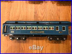 Lionel Pre War Blue Comet Passenger set 420,421,422 GORGEOUS! MAKE OFFER