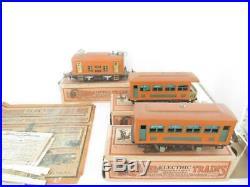 Lionel Pre-war 248 O Gauge Passenger Set- Set Boxed- Good- S1