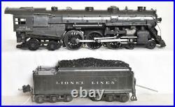 Lionel Pre-war 763e Semi-scale Grey Hudson With Very Rare Grey Coal Tender E+