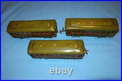 Lionel Pre-war O Gauge #610, #610 & #612 Pullman & Observation Passenger Cars