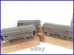 Lionel Pre-war Standard Gauge 3 Car Passenger Set- 332/339/341- Boxed- Vg- B1