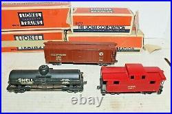 Lionel Prewar 004 004W 0074 0075 0077 2-Rail Set 1940 OO