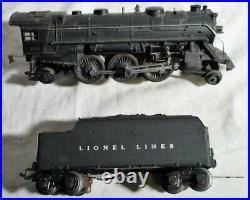 Lionel Prewar 224 O Gauge Steam Locomotive and 2224W Tender