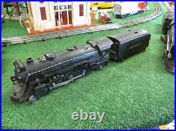 Lionel Prewar 225e 2-6-2 Die Cast Steamer W 2225w Tend Great Runner Orig 39-42