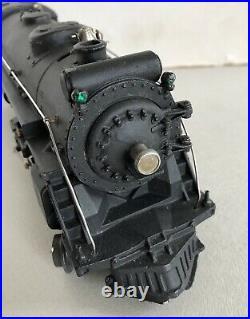 Lionel Prewar 225e Black Locomotive Runs Well & Vg Condition No Tender