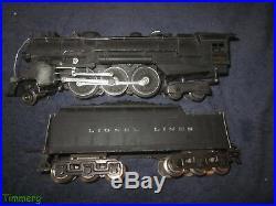 Lionel Prewar 226E Lionel Lines 2-6-4 Die-Cast Steam Locomotive with2226W Tender