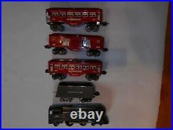 Lionel Prewar 238E-265W 600,601, 602 SET WITH SET BOX