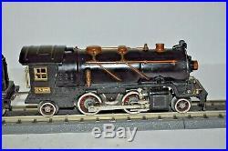 Lionel Prewar 262 Steam Engine & 262t Tender Excellent-works