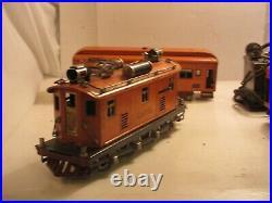 Lionel Prewar 268 O Gauge Electric Passenger Train Set