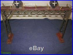 Lionel Prewar 440 Standard Gauge Overhead Signal Bridge Accessory