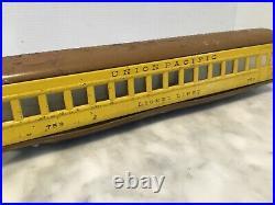 Lionel Prewar # 752w 753,754 Streamliner Passenger Set O Gauge -work