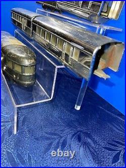 Lionel Prewar Flying Yankee Set #616 (2) #617 #618 Chrome Streamliner Set