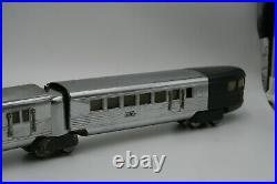 Lionel Prewar Flying Yankee Streamline O Gauge #616, 617, 617, 618 Nice Set