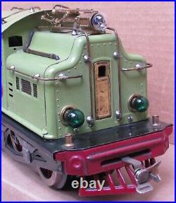 Lionel Prewar No. 408E Electric Engine Apple Green Standard Gauge TESTED