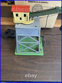 Lionel Prewar O Gauge #165 Magnetic Crane bright colors original box with 165-83