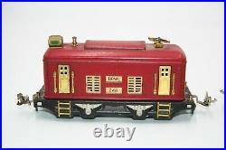 Lionel Prewar O Gauge #248 Engine And #630 Passenger Car Very Nice Set