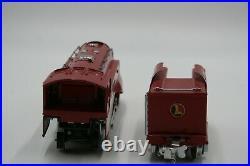 Lionel Prewar O Gauge #264e And #264t Red Comet Very Nice Set