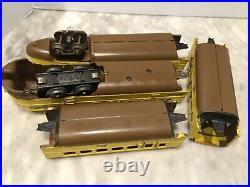 Lionel Prewar O Gauge 636w Union Pacific Streamliner Set