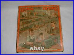 Lionel Prewar O-Gauge No. 248 Engine withNos. 629,630 Passenger Car Set, OB