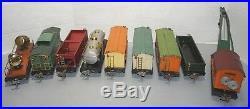 Lionel Prewar O-gau Freight Set 810 Crane 812,813, 814r, 814, 815, 816, 817, 820