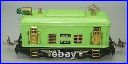 Lionel Prewar O-gauge 248 Locomotive With 3 Passenger Cars