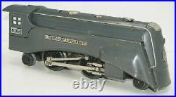Lionel Prewar O-gauge 265e Gray Commodore Vanderbilt Locomotive With 265t Tender
