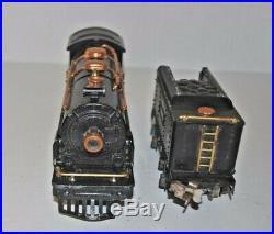 Lionel Prewar Set Box 236 262 Loco, 262t Tender & 607, 607, 608 Coaches