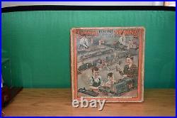 Lionel Prewar Set Box For Set #266e 254e Loco 610 610 612 Pass Cars Solid Cond