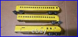 Lionel Prewar Set City Portland Union Pacific Streamliner Train Set 752W 753 754