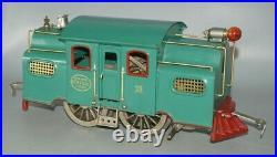 Lionel Prewar Stand. Gauge 38 Nyc Locomotive & 3 Pass. Baggage Observation Cars