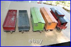 Lionel Prewar Standard Gauge 112 112 113 114 117 Freight Cars JB