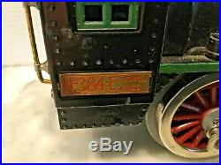 Lionel Prewar Standard Gauge 384e Loco Bild -a -loco Motor 384t Tender