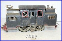 Lionel Prewar Standard Gauge #38 NYC Black MFG Co. Era Locomotive Engine RUNS