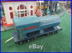 Lionel Prewar Standard Gauge 400e Blue Comet Loco & Passenger Car Set 420/21/22