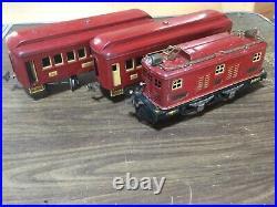 Lionel Prewar Standard Gauge #8 Loco With 338,337 Passenger Cars