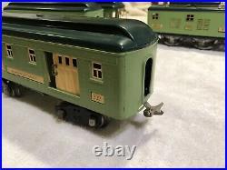 Lionel Prewar Standard Gauge Train Set No 8E, 339, 341, 332 Needs TLC
