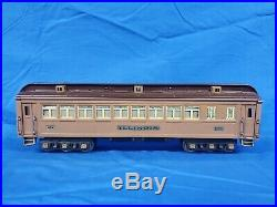 Lionel Prewar Standard Gauge Two Tone Brown 408E State Set (RESTORED)