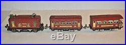 Lionel Prewar Train Set 248 Engine & 629, 630 Passenger Cars O Gauge