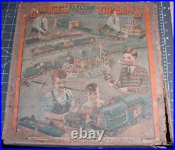 Lionel Prewar Train Set #294 w boxes, documentation, and 4 extra cars, no track