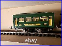 Lionel RARE Antique Pre war # 345 Train with 2 passenger cars # 629 & 630 set