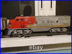 Lionel Santa Fe No. 2343 Pre War Vintage Lot 3 Train Cars Estate Locomotives